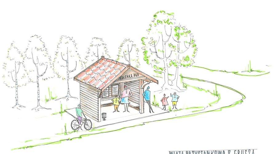 Małe Granty Sołeckie dofinansują budowę przystanków w Jabłonce