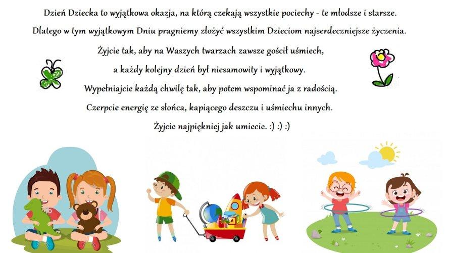 1 czerwca - Dzień Dziecka